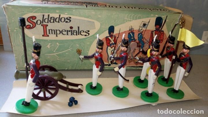 Figuras de Goma y PVC: TORRES MALTA-CAJA DE SOLDADOS IMPERIALES - Foto 2 - 175699083