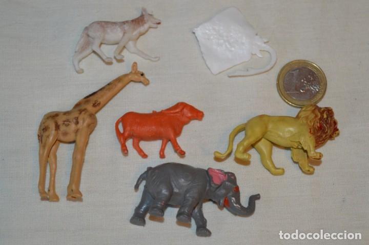 Figuras de Goma y PVC: 6 figuras variadas ANIMALES - COMANSI, OLIVER, PUIG, PECH, JECSAN.. Años 50/60 ¡Mira fotos/detalles! - Foto 5 - 175706865