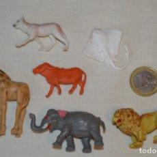 Figuras de Goma y PVC: 6 FIGURAS VARIADAS ANIMALES - COMANSI, OLIVER, PUIG, PECH, JECSAN.. AÑOS 50/60 ¡MIRA FOTOS/DETALLES!. Lote 175706865