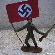 Figuras de Goma y PVC: SOLDADO NAZI DE LA SEGUNDA GUERRA MUNDIAL. Lote 194376452