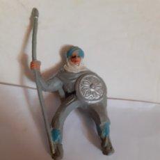 Figuras de Goma y PVC: FIGURA MORO SARRACENO CABALLO BEN YUSUF PLASTICO. Lote 175757902