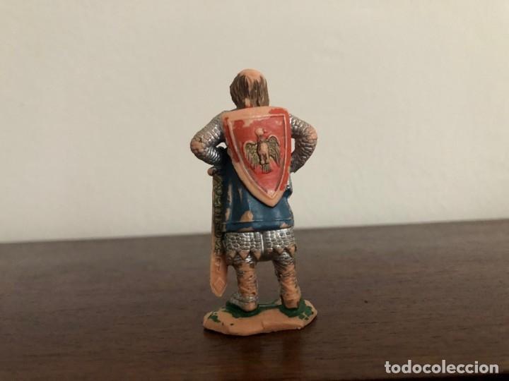 Figuras de Goma y PVC: Reamsa. Figura serie Ricardo Corazón de León, Número 181. Original - Foto 2 - 175771864