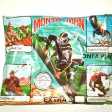 Figuras de Goma y PVC: SOBRE MONTAPLEX EXTRA Nº 3 MONTAMAN SUBMARINISTA - SOBRE CERRADO. Lote 244989615