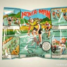 Figuras de Borracha e PVC: SOBRE MONTAPLEX EXTRA Nº 25 MONTAMAN CICLISTA - SOBRE CERRADO. Lote 229341830