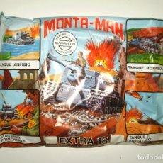 Figuras de Goma y PVC: SOBRE MONTAPLEX EXTRA Nº 18 MONTAMAN TANQUE - SOBRE CERRADO. Lote 194723097