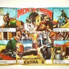 Figuras de Goma y PVC: SOBRE MONTAPLEX EXTRA Nº 6 MONTAMAN MOTO - SOBRE CERRADO. Lote 194723072