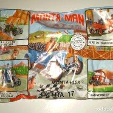 Figuras de Goma y PVC: SOBRE MONTAPLEX EXTRA Nº 17 MONTAMAN COCHE ANTIGUO FORD - SOBRE CERRADO. Lote 194723107