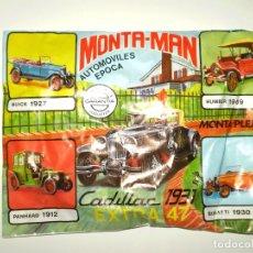 Figuras de Goma y PVC: SOBRE MONTAPLEX EXTRA Nº 47 MONTAMAN CADILLAC 1931 - SOBRE CERRADO. Lote 226125425