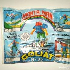 Figuras de Goma y PVC: SOBRE MONTAPLEX EXTRA Nº 35 MONTAMAN ROBOT HERCULES - SOBRE CERRADO. Lote 175782718