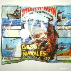 Figuras de Goma y PVC: SOBRE MONTAPLEX EXTRA Nº 42 MONTAMAN GEOS NAVALES - SOBRE CERRADO. Lote 175783699