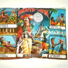 Figurines en Caoutchouc et PVC: SOBRE MONTAPLEX EXTRA Nº 12 MONTAMAN PIRATA - SOBRE CERRADO. Lote 194723050