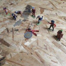 Figuras de Goma y PVC: LOTE DE FIGURAS PEQUEÑAS DE ELASTOLIN. Lote 175829928