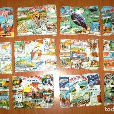 Figuras de Goma y PVC: LOTE MONTAPLEX - 12 SOBRES CERRADOS MONTAMAN VARIADOS. Lote 175831969