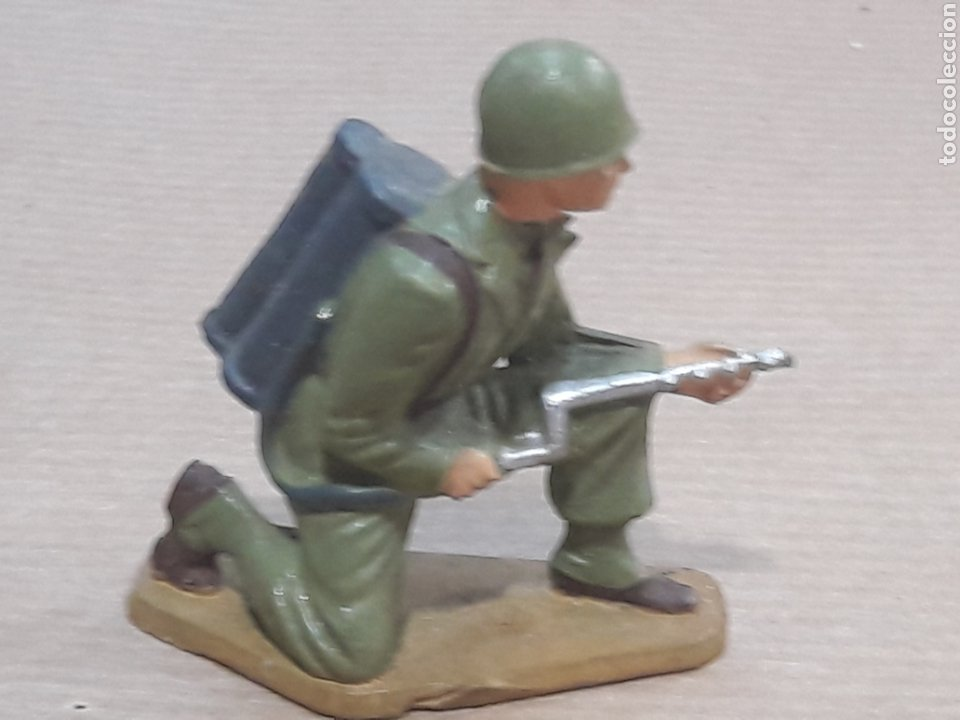 Figuras de Goma y PVC: GRAN LOTE GUERRA MUNDIAL STARLUX FRANCIA - Foto 6 - 175835352
