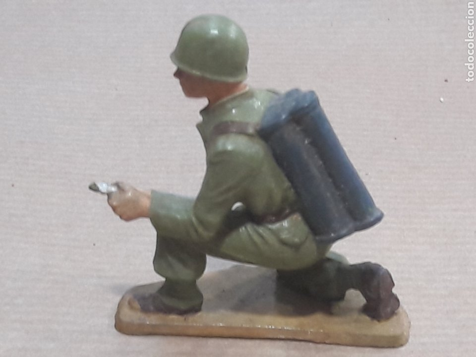 Figuras de Goma y PVC: GRAN LOTE GUERRA MUNDIAL STARLUX FRANCIA - Foto 7 - 175835352