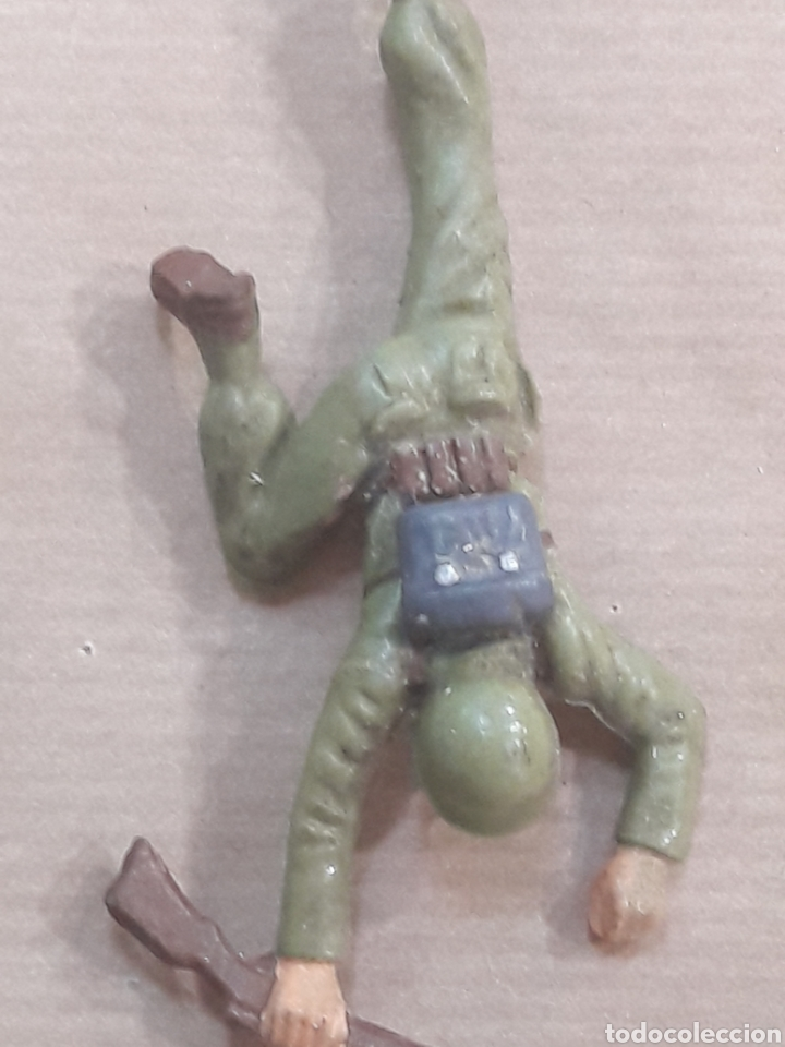 Figuras de Goma y PVC: GRAN LOTE GUERRA MUNDIAL STARLUX FRANCIA - Foto 8 - 175835352