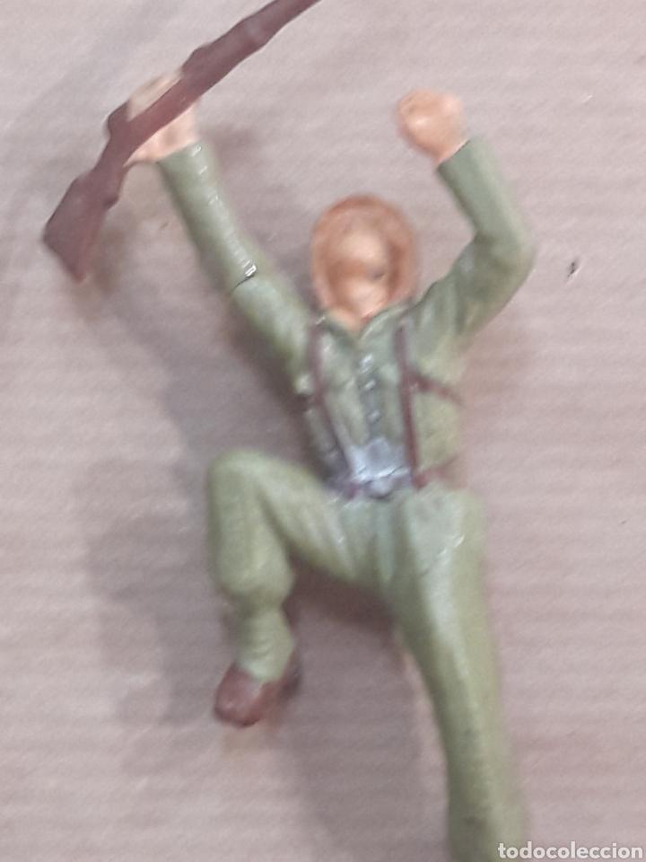 Figuras de Goma y PVC: GRAN LOTE GUERRA MUNDIAL STARLUX FRANCIA - Foto 9 - 175835352