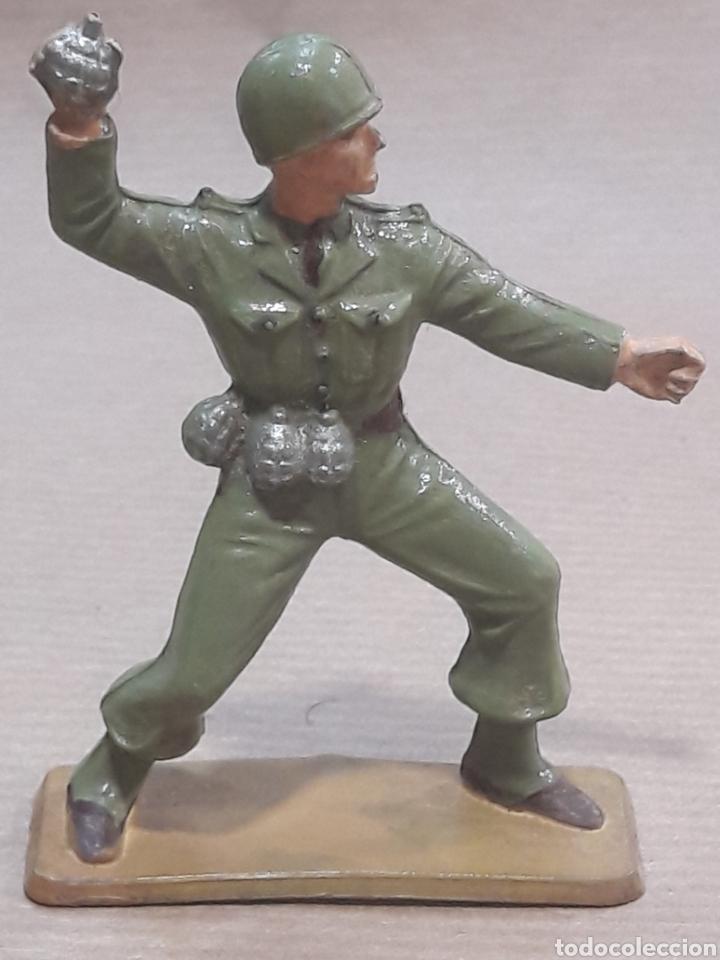 Figuras de Goma y PVC: GRAN LOTE GUERRA MUNDIAL STARLUX FRANCIA - Foto 10 - 175835352