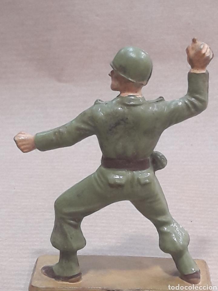 Figuras de Goma y PVC: GRAN LOTE GUERRA MUNDIAL STARLUX FRANCIA - Foto 11 - 175835352