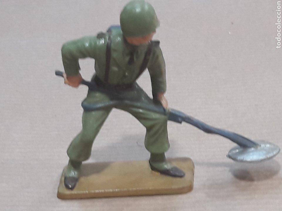 Figuras de Goma y PVC: GRAN LOTE GUERRA MUNDIAL STARLUX FRANCIA - Foto 12 - 175835352