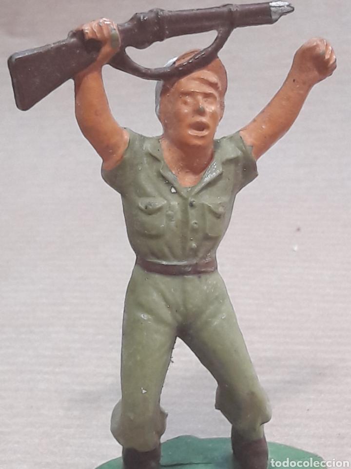 Figuras de Goma y PVC: GRAN LOTE GUERRA MUNDIAL STARLUX FRANCIA - Foto 14 - 175835352