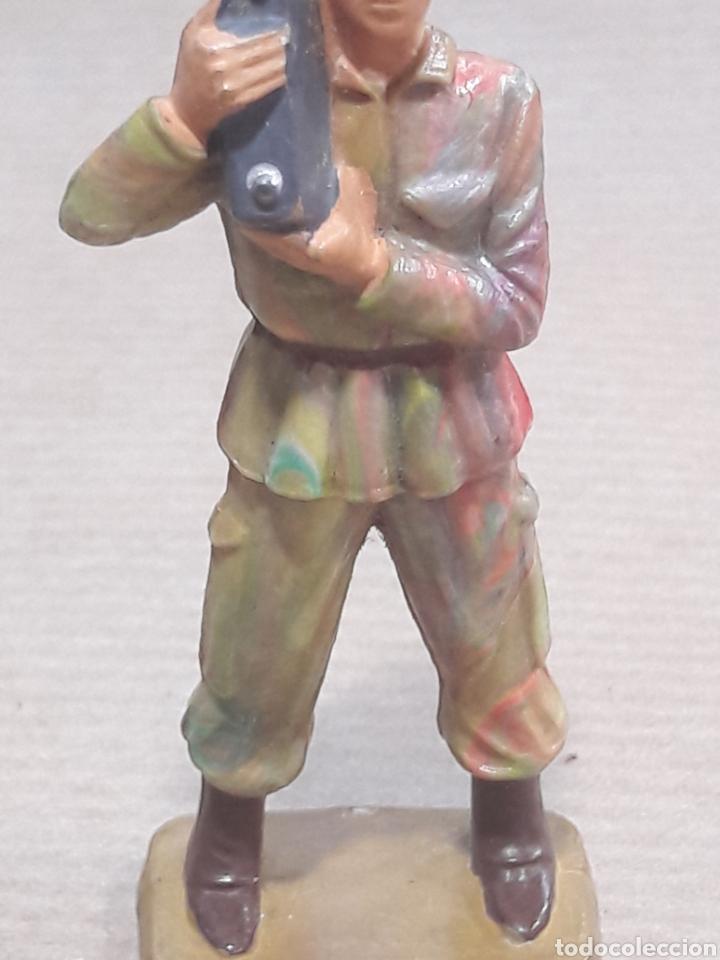 Figuras de Goma y PVC: GRAN LOTE GUERRA MUNDIAL STARLUX FRANCIA - Foto 18 - 175835352