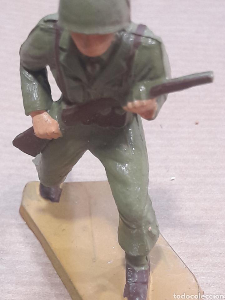 Figuras de Goma y PVC: GRAN LOTE GUERRA MUNDIAL STARLUX FRANCIA - Foto 24 - 175835352