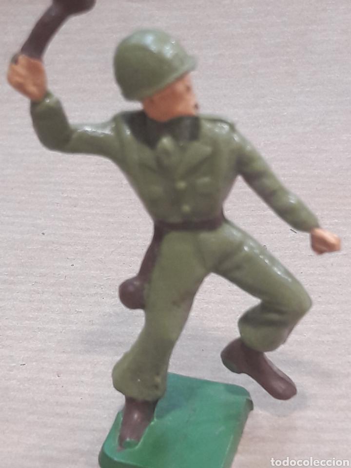 Figuras de Goma y PVC: GRAN LOTE GUERRA MUNDIAL STARLUX FRANCIA - Foto 26 - 175835352