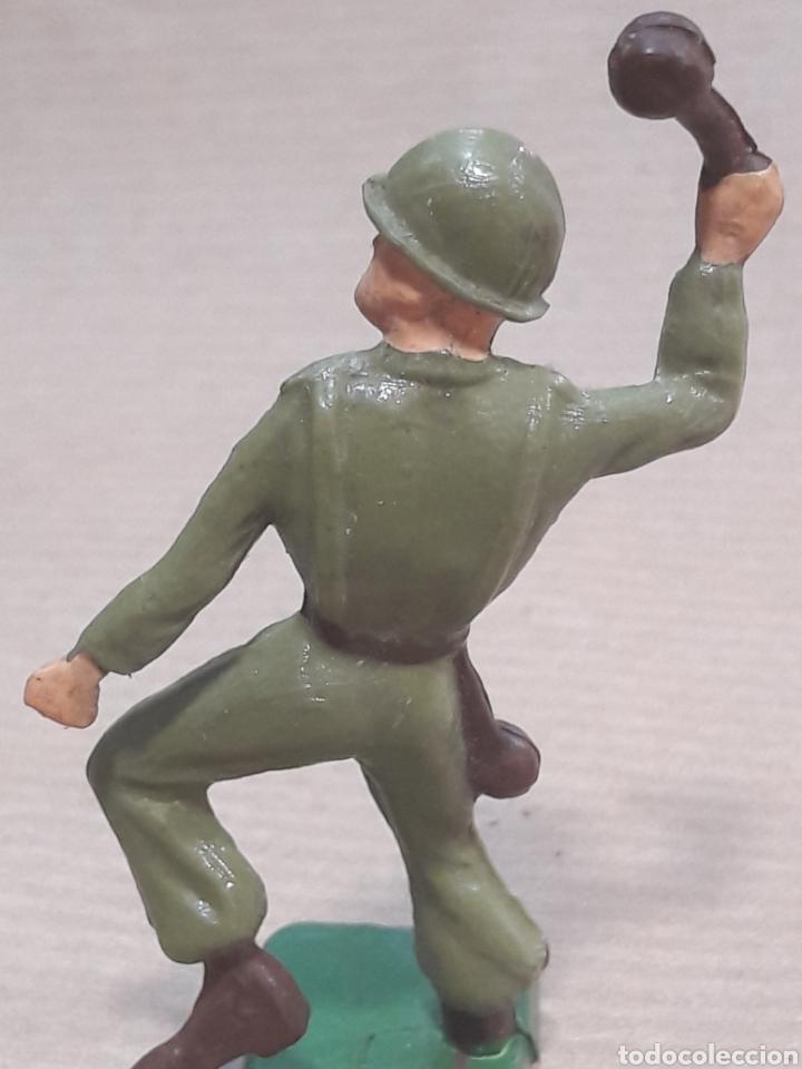 Figuras de Goma y PVC: GRAN LOTE GUERRA MUNDIAL STARLUX FRANCIA - Foto 27 - 175835352
