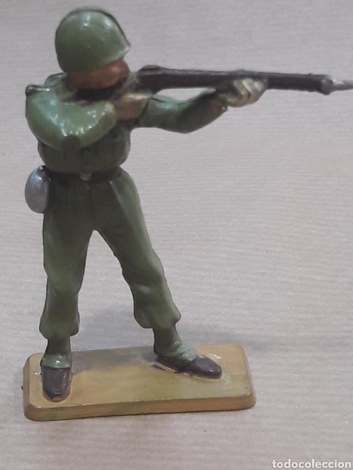 Figuras de Goma y PVC: GRAN LOTE GUERRA MUNDIAL STARLUX FRANCIA - Foto 30 - 175835352