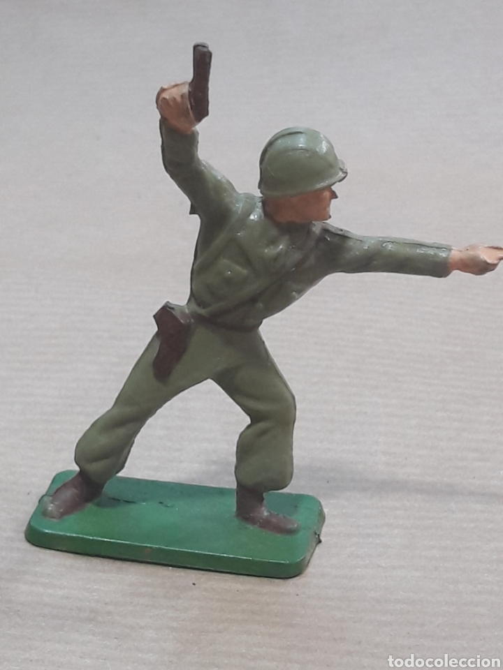 Figuras de Goma y PVC: GRAN LOTE GUERRA MUNDIAL STARLUX FRANCIA - Foto 34 - 175835352