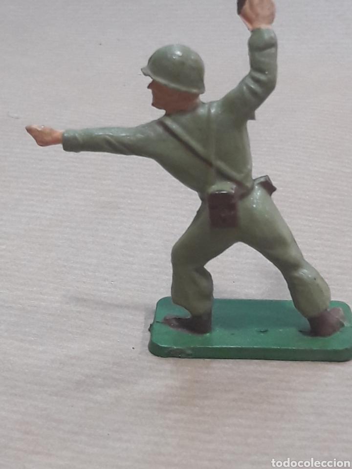 Figuras de Goma y PVC: GRAN LOTE GUERRA MUNDIAL STARLUX FRANCIA - Foto 35 - 175835352