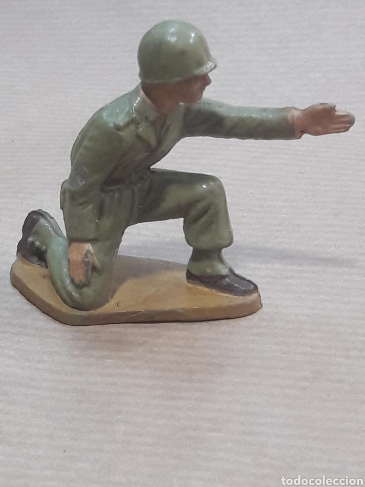 Figuras de Goma y PVC: GRAN LOTE GUERRA MUNDIAL STARLUX FRANCIA - Foto 36 - 175835352