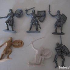 Figuras de Goma y PVC: FIGURAS JECSAN, COMANSI, PECH, LAFREDO, REAMSA, BRITAINS TOY SOLDIERS.. Lote 175873464