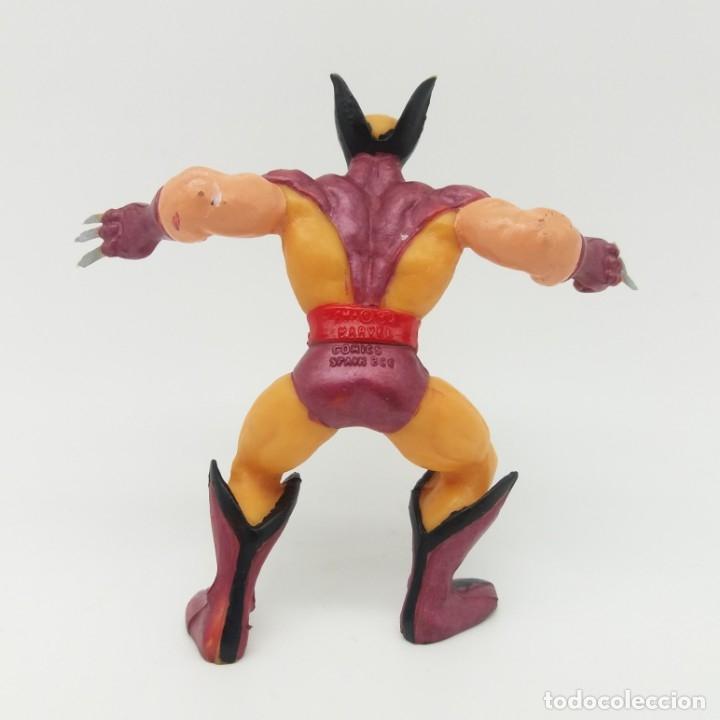 Figuras de Goma y PVC: Lobezno Wolverine COMICS SPAIN - Marvel Patrulla X Mutantes X Men 1990 - Foto 2 - 175876177