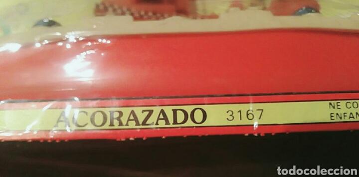 Figuras de Goma y PVC: Barco Bullycan Acorazado, ref. 316,7 sin abrir. Mide 28 cm. - Foto 2 - 175888233