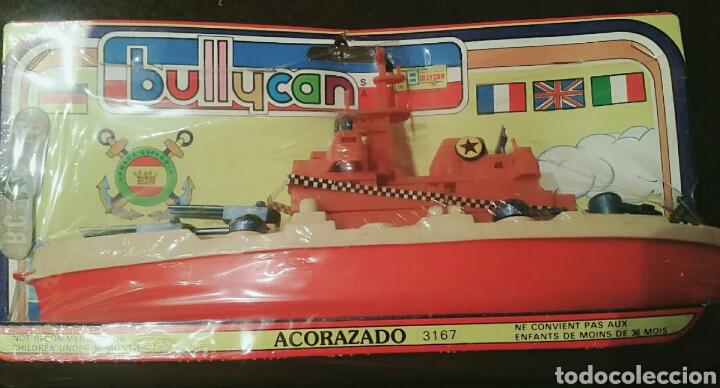 Figuras de Goma y PVC: Barco Bullycan Acorazado, ref. 316,7 sin abrir. Mide 28 cm. - Foto 3 - 175888233