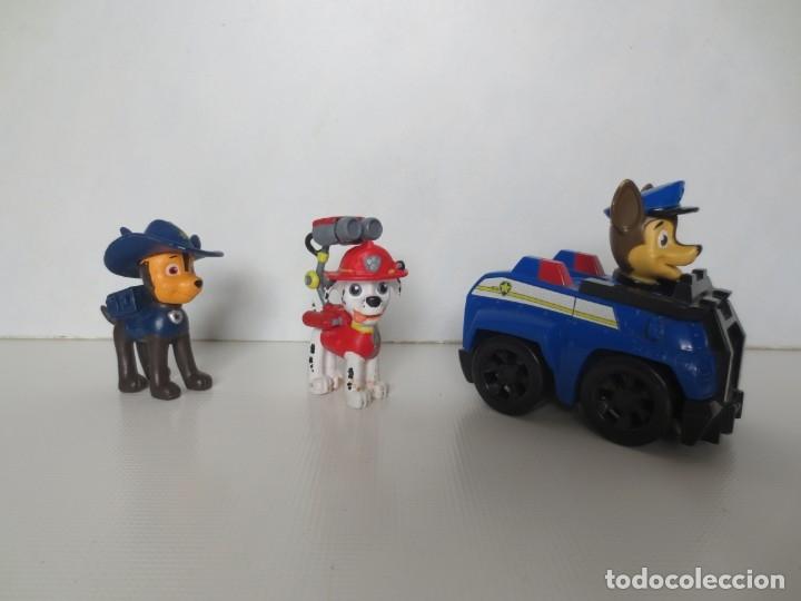 3 FIGURAS DE LA PATRULLA CANINA (Juguetes - Figuras de Goma y Pvc - Otras)