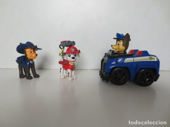 Figuras de Goma y PVC: 3 FIGURAS DE LA PATRULLA CANINA - Foto 2 - 175898184