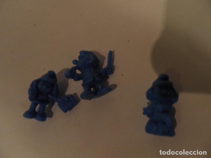 Figuras de Goma y PVC: LOS PITUFOS , PEYO , AÑO 1983 - PEQUEÑAS FIGURA DE PLASTICO TIPO DUNKIN - MIDE 3 cm ALTO - Foto 4 - 175902538