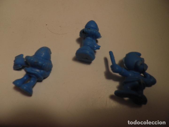 Figuras de Goma y PVC: LOS PITUFOS , PEYO , AÑO 1983 - PEQUEÑAS FIGURA DE PLASTICO TIPO DUNKIN - MIDE 3 cm ALTO - Foto 5 - 175902538