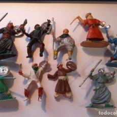 Figuras de Goma y PVC: EL CID, BEN YUSUF - JECSAN - ARABES/MOROS. Lote 175934450