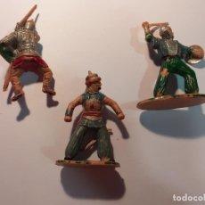 Figuras de Goma y PVC: REAMSA: CID - RICARDO CORAZON DE LEON - BEN YUSUF - NO MARCADAS. Lote 175935332