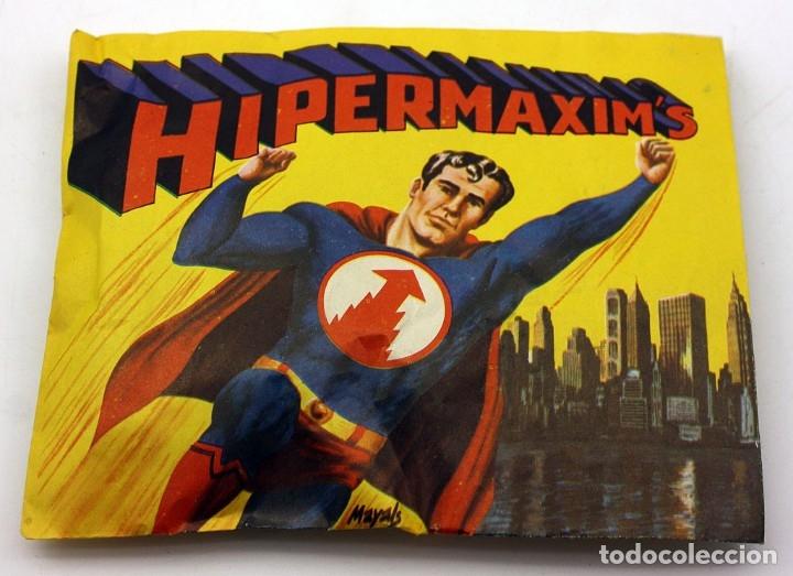 HIPERMAXIM'S - SOBRE CERRADO SIN ABRIR - MONTAMAN MONTAPLEX HYPERMAXIMS MONTA-MAN SUPERMAN (Juguetes - Figuras de Goma y Pvc - Montaplex)