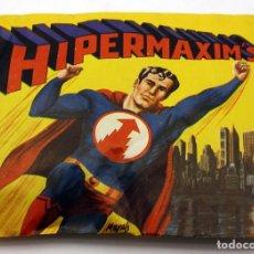 Figuras de Goma y PVC: HIPERMAXIM'S - SOBRE CERRADO SIN ABRIR - MONTAMAN MONTAPLEX HYPERMAXIMS MONTA-MAN SUPERMAN. Lote 175951523
