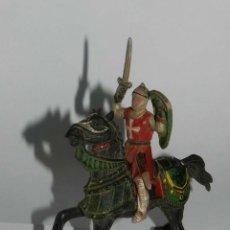 Figuras de Goma y PVC: FIGURA DE CRUZADO DE REAMSA, REALIZADOS EN GOMA. TAL Y COMO SE VE EN LAS FOTOGRAFIAS PUESTAS.. Lote 175956295