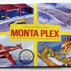 Figuras de Goma y PVC: MONTAPLEX - SOBRE CERRADO SIN ABRIR - Nº424 - MODELOS A ESCALA - MONTA PLEX. Lote 175956757