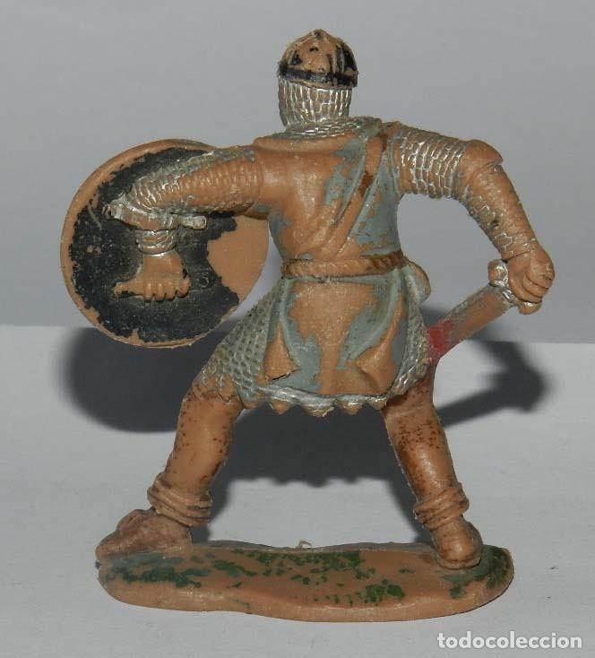 Figuras de Goma y PVC: Figura de Reamsa. Serie Caballeros del Rey Arturo. nº 188. Príncipe Valiente. Realizada en plastico. - Foto 2 - 175957385