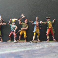Figuras de Goma y PVC: REAMSA - 7 PIRATAS. Lote 175961425