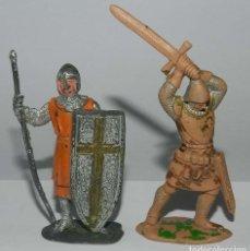 Figuras de Goma y PVC: FIGURA PLASTICO REAMSA Nº 193. SERIE RICARDO CORAZON DE LEON. JUNTO CON MEDIEVAL.. Lote 175961717